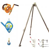 Globestock Tripod Kit, with G Saver, G winch, brackets and underslung pulley