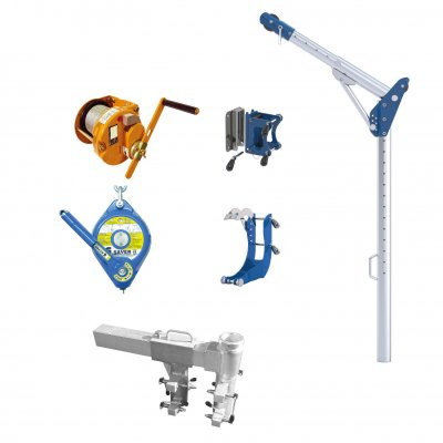 G davit rescue kit