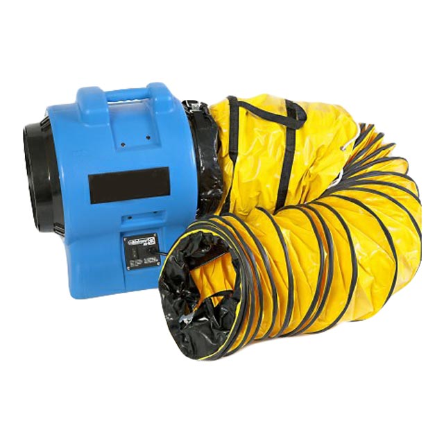 Airmover 300mm (12 inches) - 110V - Non ATEX - 7.5M Ducting