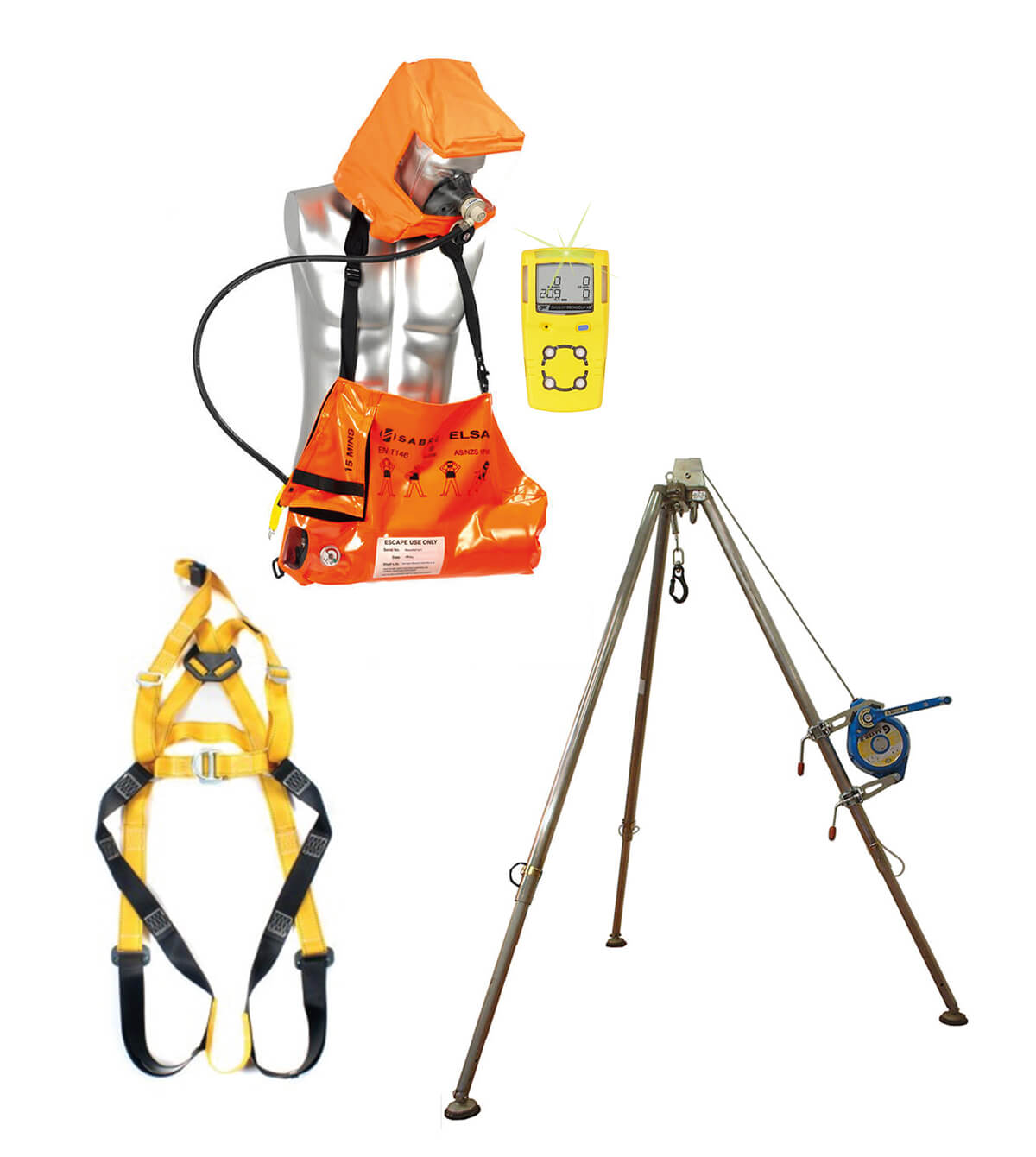 1 Person Confined Space Entry Package