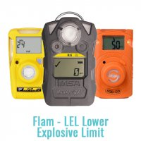 Single Cell Gas Monitor - (Flam - LEL Lower Explosive Limit)