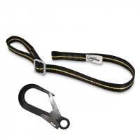 Work Positioning Lanyard Adjustable 1-2m - With Scaffold Hook