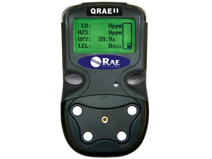 Portable Gas Detection >> QRAE II - LEL/O2/H2S/CO